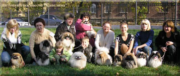 Great company of our Kennels on a Dog Show 10.10.09